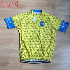 2021 Summer Mens Team Cycling Jersey Mtb Bike Tops Short Sleeve Bicycle Shirt Xl