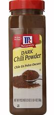 McCormick Dark Chili Powder Seasoning Mix Chili Mix Natural Spices