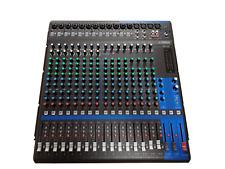 Yamaha mezclador mg 20 - 20 canal mesa de mezclas con efectos-usado