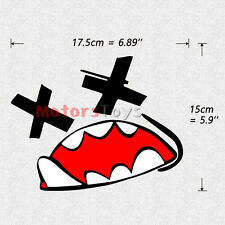 1PC JDM Funny Monster Racing Drift Reflective Vinyl Motorcycle Car Sticker Decal