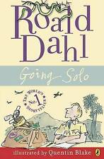 Going Solo by Roald Dahl, Acceptable Used Book (Paperback) FREE & FAST Delivery!