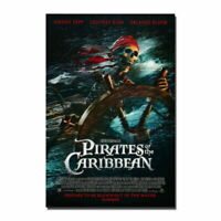 137061 Pirates Of The Caribbean 2017 Movie Decor Wall Print POSTER
