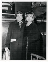 Nancy Sinatra und Tommy Sands. Orig. Presse-Photo von 1962