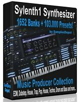 1652 Banks + 107,000 Presets for Sylenth Logic, FL Studio, Reason Ableton Cubase