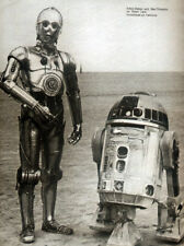 STAR WARS POSTER PAGE . R2-D2 AND C-3PO ON TATOOINE . S1A