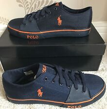 BNIB MENS POLO RALPH LAUREN CROFTON-NE SHOES/TRAINERS/SNEAKERS SIZE 9 IN NAVY