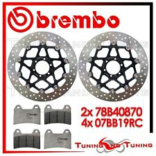 Dischi Freno Anteriore BREMBO + Pastiglie RC DUCATI MONSTER S2 R 1000 2006 870