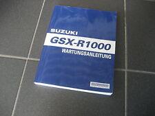 WERKSTATTHANDBUCH Suzuki GSX-R 1000 K7 K8 deutsch NEU&OVP Wartung Reparatur