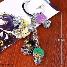 Sword Art Online 5characters Metal Keychain Cell Phone Charms Pendant Anime AU