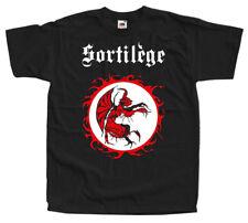 Sortilege 1983 logo T SHIRT black all sizes S - 5XL 100% cotton