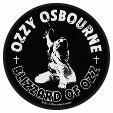 OZZY - BLIZZARD OF OZZ - WOVEN PATCH - BRAND NEW - MUSIC 2812