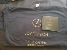 JOY DIVISION HERE ARE THE YOUNGMEN DVD/CD FOLD OUT SET + T-SHIRT