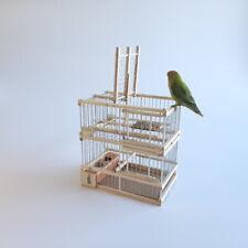 Cage avec un piège // Cage de chasse aux oiseaux évadés