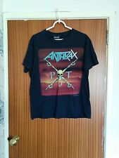 Rare Anthrax vintage OG tour t-shirt Persistence of Time 1990 thrash metal large
