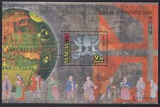 China Macao Macau Mint Never Hinged Post Office Fresh Miniature Souvenir sheet 9