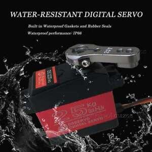 25KG Digital Servo Full Metal Gear High Torque Waterproof for RC Car Crawler Rob