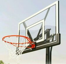 "Lifetime Basketball Hoop Rim 10ft Portable 48""  Outdoor Sports Bball"