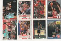 Scottie Pippen & Dennis Rodman Lot! - Ultra, Fleer, Topps, Hoops 8 MINT cards!