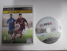 PLAYSTION 3 PS3 GAME FIFA 15 ULTIMATE TEAM EDITION
