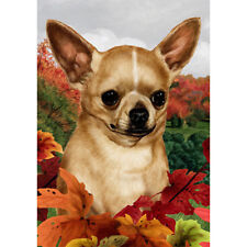 Cute Chihuahua Dog Pet Animal Large Garden Flag Yard Banner Decor Double Sided