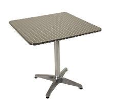 Gartentisch Bistrotisch Alutisch Gartenmöbel Tisch MARVIN 70x70cm wetterfest