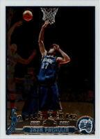 2003-04 Topps Chrome Orlando Magic Basketball Card #149A Zaur Pachulia Rookie