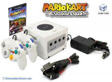 Nintendo GameCube - console #white + Mario Kart + 2 gamepads + equipment