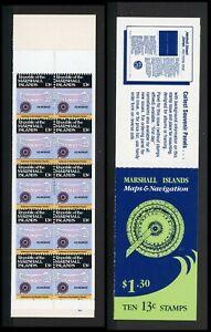Marshall Islands Scott #39a MNH BOOKLET of 10x13c Map of Ailinginae CV$8+ ISH-1