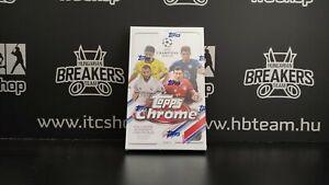 2020-21 Topps Champions League Chrome Soccer Hobby box