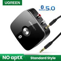 UGREEN Bluetooth Empfänger 5.0 Wireless Bluetooth Receiver Audio Adapter für PC