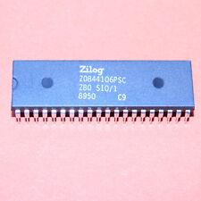 2 STK. Z0844106PSC ZILOG SERIAL I/O CONTROLLER 6MHz NMOS DIP-40 2 pcs.