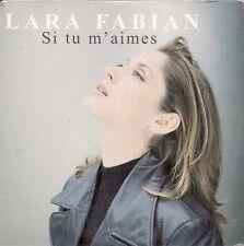 CD SINGLE 2 TITRES--LARA FABIAN--SI TU M'AIMES--1998