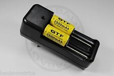 """2 PILES ACCUS RECHARGEABLE CR123A 16340 3.7V 2500mAh + CHARGEUR """" RAPIDE """""""