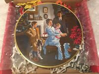 "Kern Collectible Plate 1981 ""The Christmas Of Yesterday"" Series Limited Edition"
