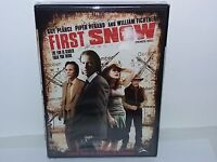 First Snow (DVD, Canadian, Wide & Fullscreen, Bilingual) NEW