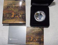 Tuvalu 2009 $1 Silber 1 Oz - Schlacht bei Poltawa - Russland