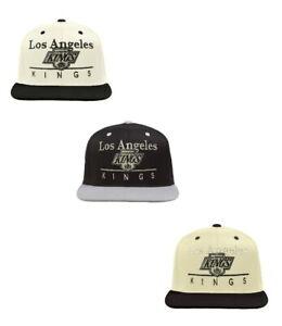 Reebok Men's Los Angeles Kings A-Line Adjustable Snapback Hat - Choose Color