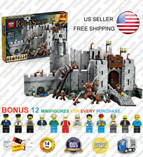 16013 Battle of Helm's Deep 9474 Lord of the Rings Building Blocks 1368 Pcs