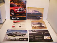 2005 JEEP LIBERTY GRAND CHEROKEE RAM SRT10 DAKOTA RT SALES BROCHURES & SLICKS(8)