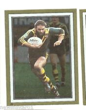 1983 RUGBY LEAGUE GOLD FOIL STICKER #84 ERIC GROTHE