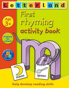 First Rhyming Activity Book by Lyn Wendon (Paperback, 2005)