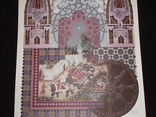 """ORIGINAL LITHOGRAPH BY GERALD FRIED TITLED """"INDIAN MOTIF"""" DATED AUGUST 1981"""