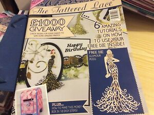 Tattered Lace Card making magazine Issue 26. Card is in mag. NO die.