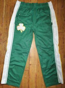 Vintage Reebok NBA Boston Celtics Hardwood Classics Tear-Away-Pants