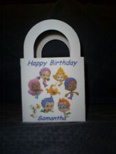 Bubble Guppies Personalized Birthday Party 12 Favor Boxes / goody bags