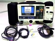 LifePak 20 Monitor 3 ECG Leads Battery Pacer