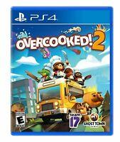 Overcooked! 2 PS4  - NEW & FREE USA SHIPPING