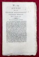 Saint Pierre le Moutier en 1790 Nièvre Gevaudan Liancourt Gourdon Barèges Forez