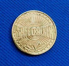 Old Brass Coin Token  SAFECRACKER - Bally