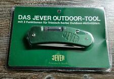 JEVER OUTDOOR TOOL - 3 Funktionen - Messer - Flaschenöffner - LED Leuchte